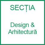 sectia design-arhitectura